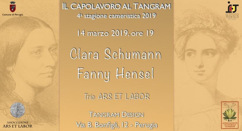 Clara Schumann e Fanny Hensel al Tangram - Perugia