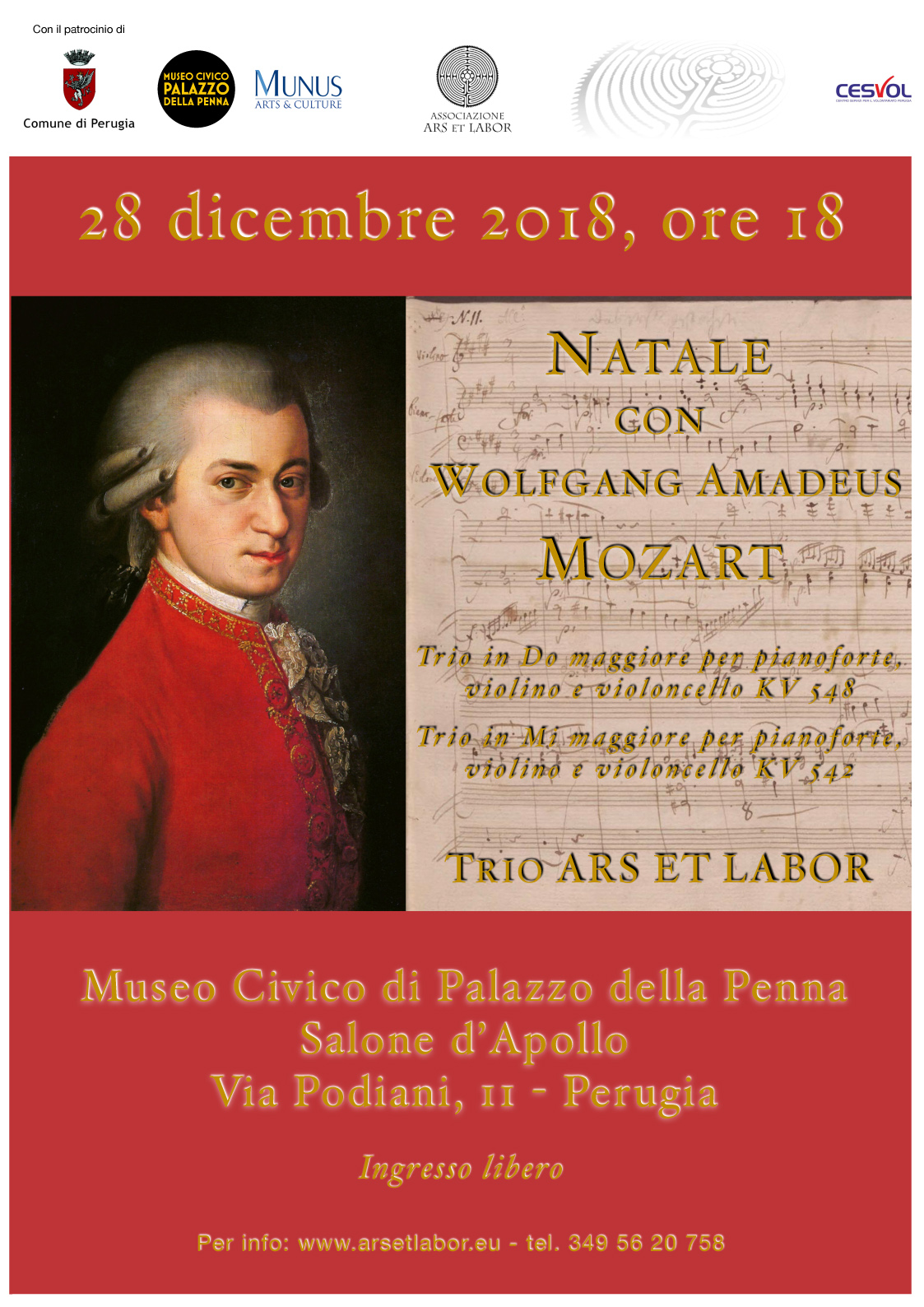 Natale con Wolfgang Amadeus Mozart